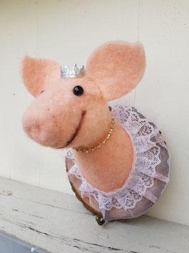 Kleiderhaken Schweinchen