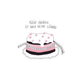 Küchentuch, Kein Kuchen ist auch keine Lösung