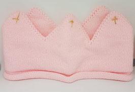 Stirnband Krone rosa