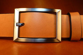 Ceinture marron 35 mm (boucle n°029)