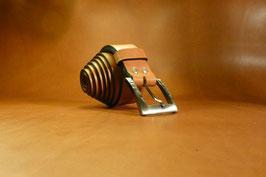 Ceinture marron 35 mm (boucle n°006)
