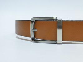 Ceinture marron 35 mm (boucle n°038)