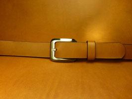 Ceinture marron 30 mm (boucle n°011)
