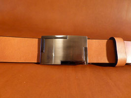 Ceinture marron 35 mm (boucle n°025)