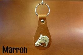 Porte-clés Tête de cheval personnalisable