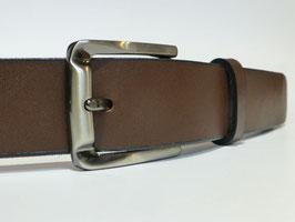 Ceinture marron foncé 35 mm (boucle n°034)