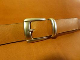 Ceinture marron 30 mm (boucle n°005)