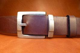 Ceinture marron foncé 40mm (boucle n°020B)