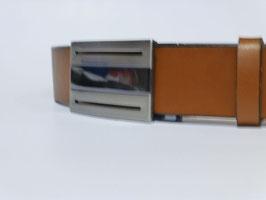 Ceinture marron 35 mm (boucle n°037)