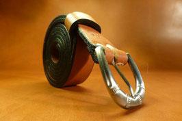 Ceinture marron 25 mm (boucle n°015)