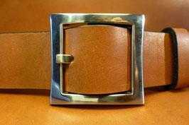 Ceinture marron 40mm (boucle n°009)