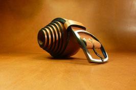Ceinture marron 40mm (boucle n°005)