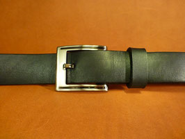 Ceinture noire 30 mm (boucle n°007)