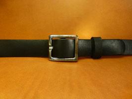 Ceinture noire 30 mm (boucle n°009)