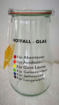 notfall - glas