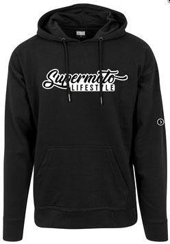 Hoodie Man Clean Black - Supermoto Lifestyle '19 -