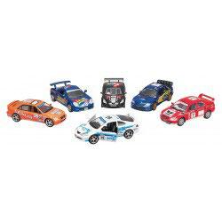 voiture de rallye, Street racers, en métal, 1:36