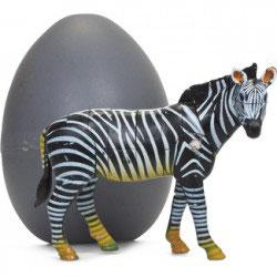 Puzzle 3D animal sauvage emballé dans un oeuf