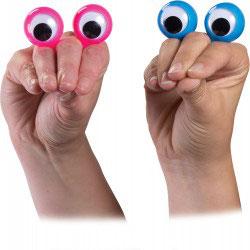 Doigts espions ou z'yeux de doigts (lots de 2)
