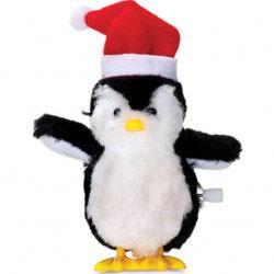 Pingouin de Noel à remontoir