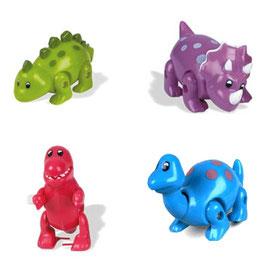 les 4 clockworks bébé dinosaures