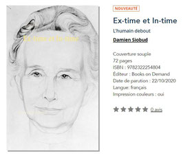Ex-time et In-time, l'humain debout -Damien Siobud