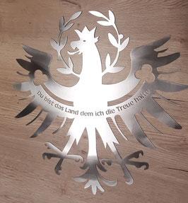 "Tiroler Adler aus EDELSTAHL ""TREUE"""