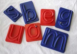 Rollbuchstaben, Kleinbuchstaben richtige Abläufe!