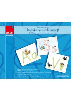 Basisschrift Buchstabenkarten