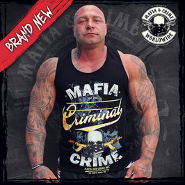 "Bodyshirt Mafia and Crime ""Criminal"" schwarz"