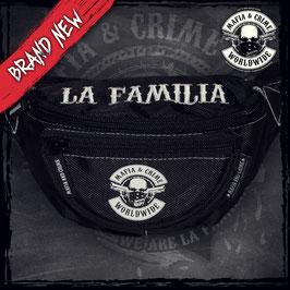 Mafia & Crime Gürteltasche LA FAMILIA schwarz
