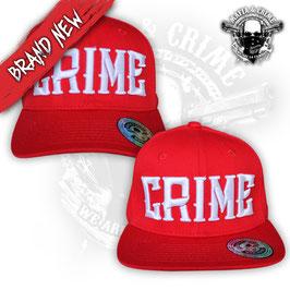 Mafia & Crime Basecap CRIME rot