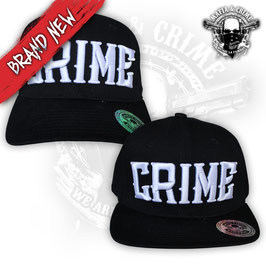 Mafia & Crime Basecap CRIME schwarz