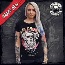 "Shirt Mafia and Crime ""OMERTA"" schwarz"