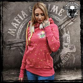 Girl Hoodie Mafia and Crime vintage rot