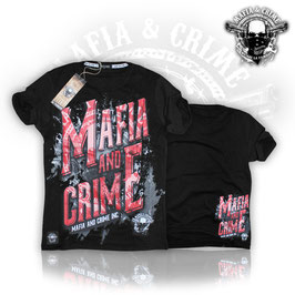 "Shirt Mafia and Crime ""MAFIA AND CRIME"""