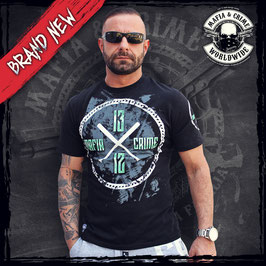 "Shirt Mafia and Crime ""Baseball 1312"" schwarz"