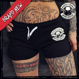 "Short Pants Mafia and Crime ""BAD GIRL"" Panties schwarz"