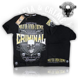 "Shirt Mafia and Crime ""MAFIA AND CRIME CRIMINAL"""