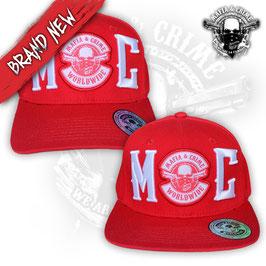 Mafia & Crime Basecap MC Logo rot