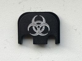 "Glock Deckplatte ""Biohazard"""