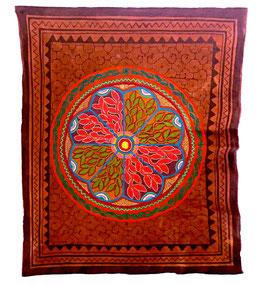 Handgefertigtes Shipibo Tuch Nr. 110 ca. 140x140cm