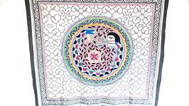 Handgefertigtes Shipibo Tuch Nr. 99 ca. 150x150cm
