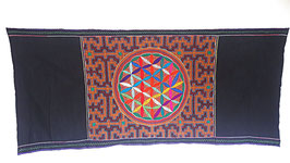 Handgefertigtes Shipibo Tuch Nr. 118 ca. 70x140cm