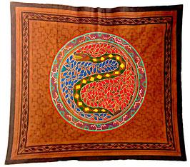 Handgefertigtes Shipibo Tuch Nr. 107 ca. 150x150cm