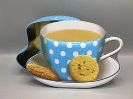 Teetasse als Geschenkebox