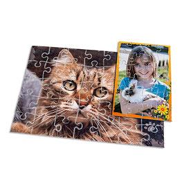 Kartonpuzzle rahmenlos bedruckt