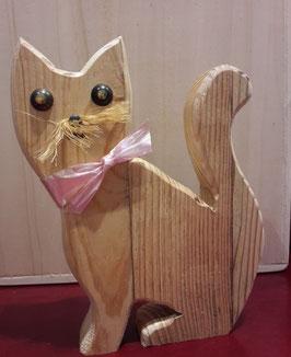 Holzkatze