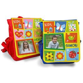 Kinderrucksack mit bedruckter Frontlasche