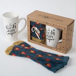 """Geschenkset Tasse & Socken """"Camper"""""""